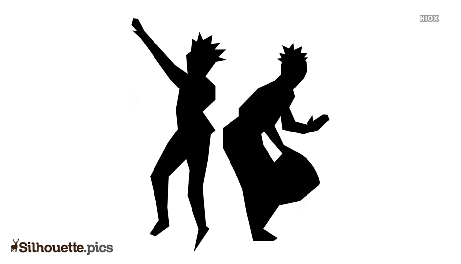 Flamenco Dancer Silhouette Art