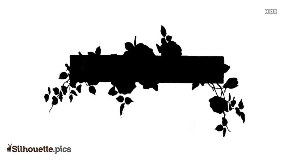 Floral Arrangement Silhouette