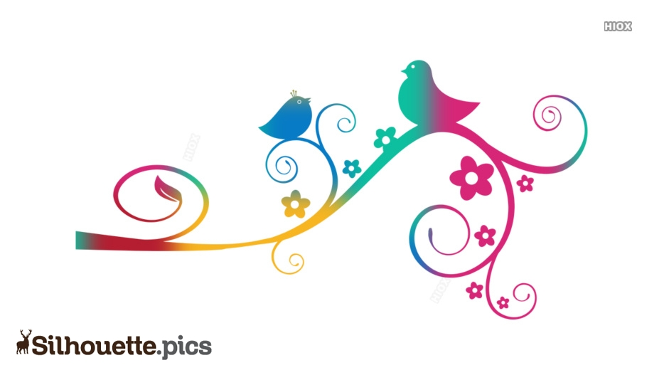 Floral Silhouette Images, Pictures
