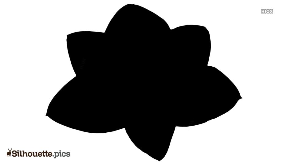 Flower Background Silhouette Art