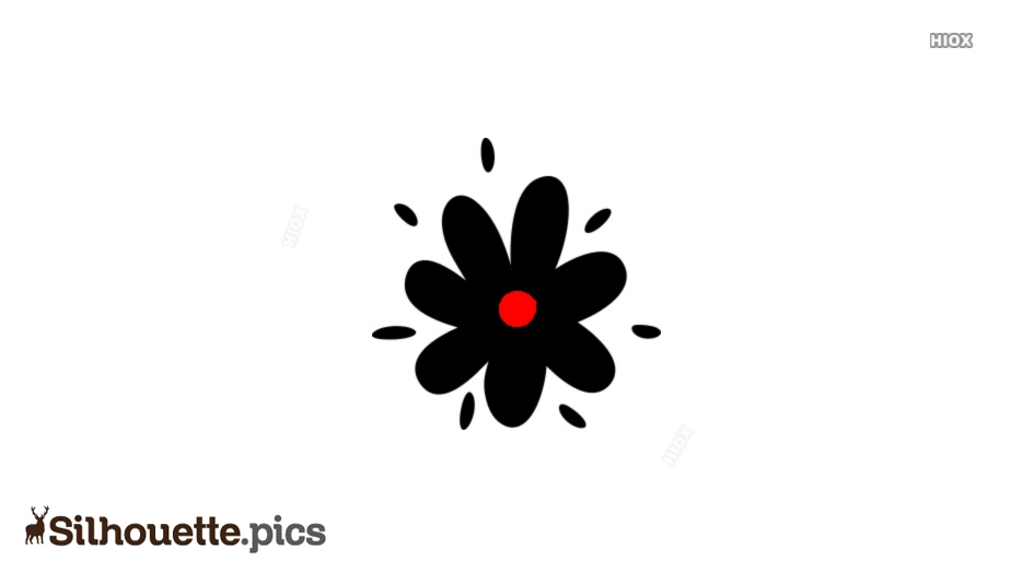 Flower Silhouette Transparent Background