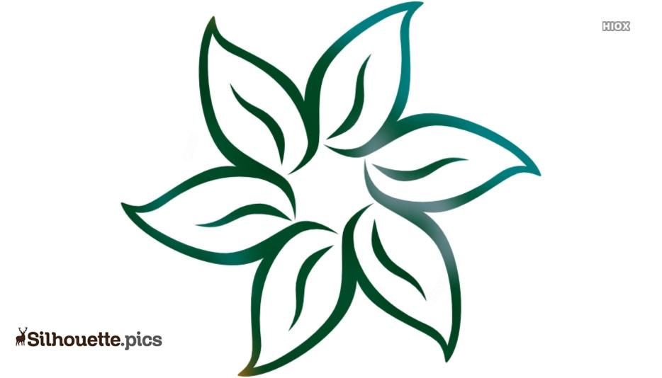 Flowers Design Silhouette Illustration