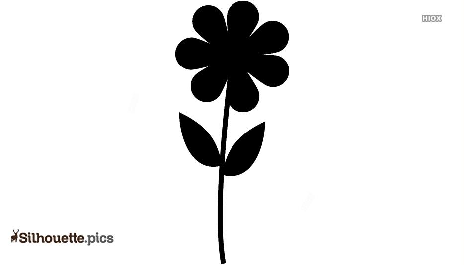 Flowers Silhouette Clip Art