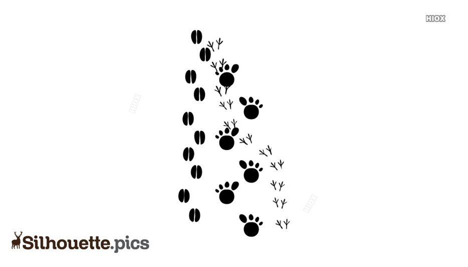 Footprints Silhouette Images