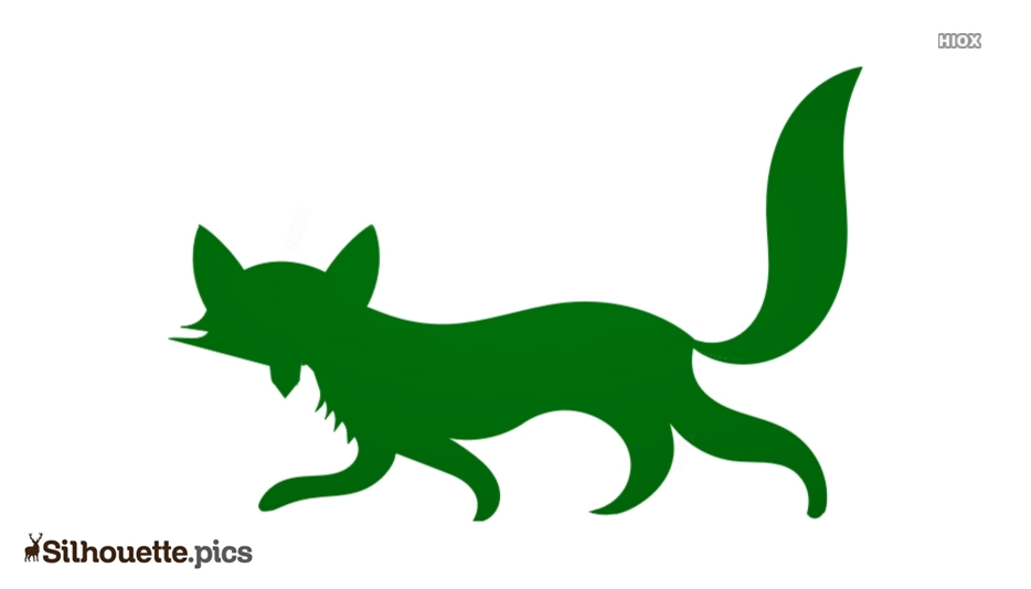 Fox Drawing Silhouette Clipart