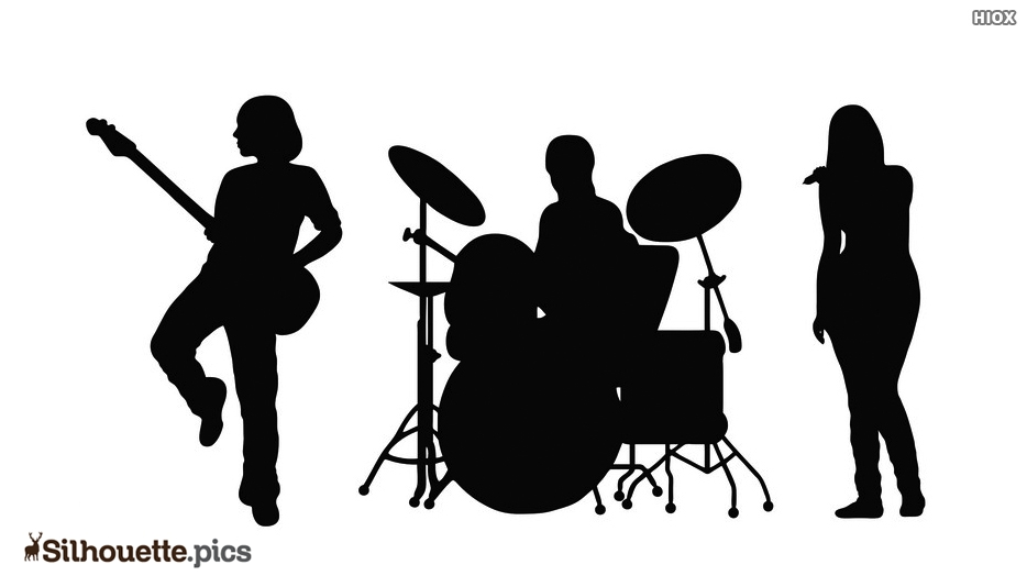 Free Band Silhouette