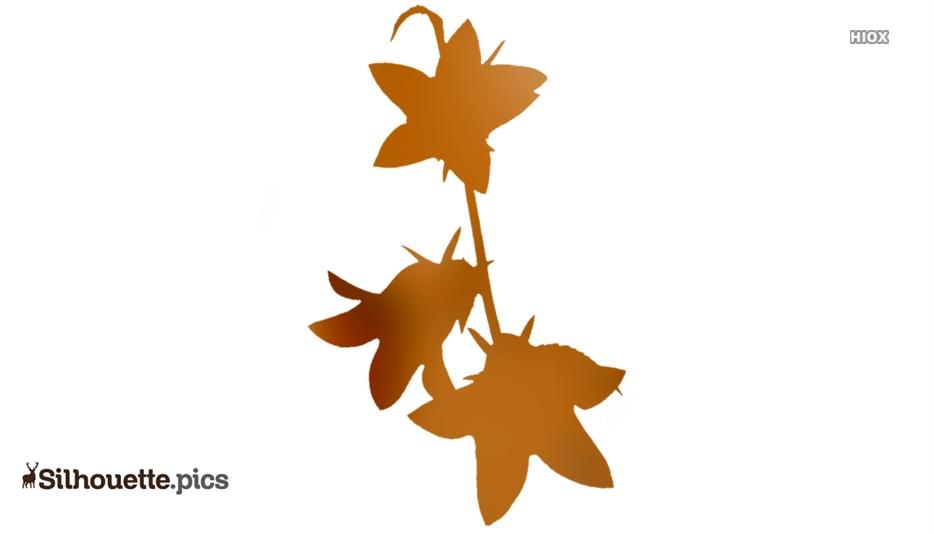 Free Bluebell Flower Silhouette