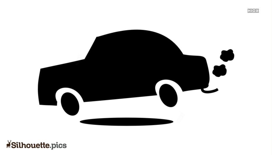 Free Cartoon Car Silhouette