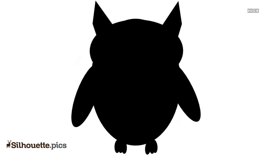 Free Cartoon Owl Drawing Silhouette