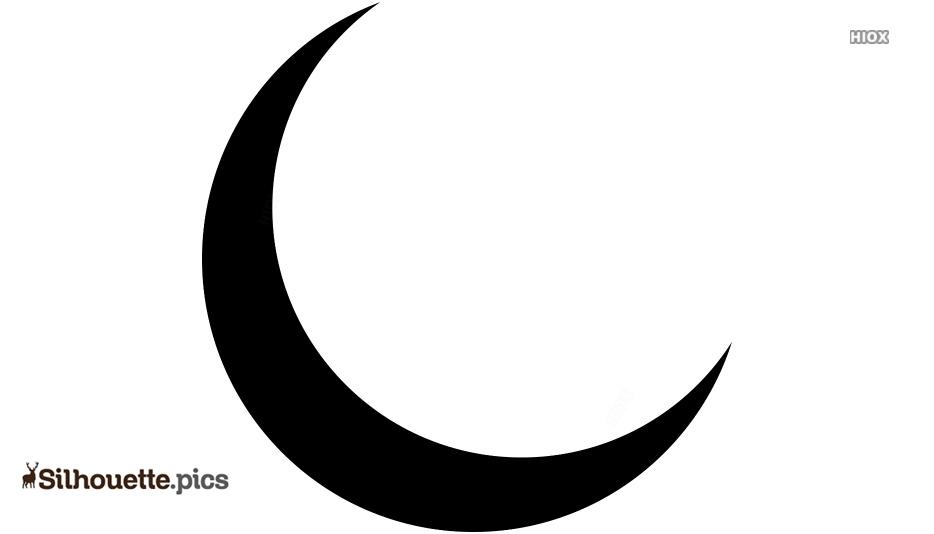 free crescent moon vector silhouette silhouette pics free crescent moon vector silhouette silhouette pics