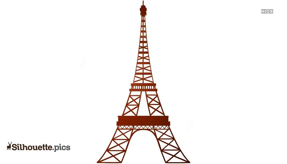 Free Eiffel Tower Silhouette