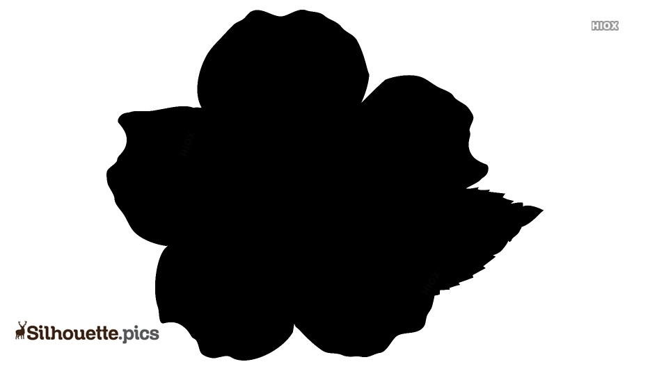 Free Flower Design Silhouette