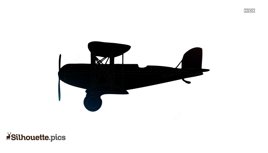 Free Flying Old Plane Silhouette Silhouette Pics