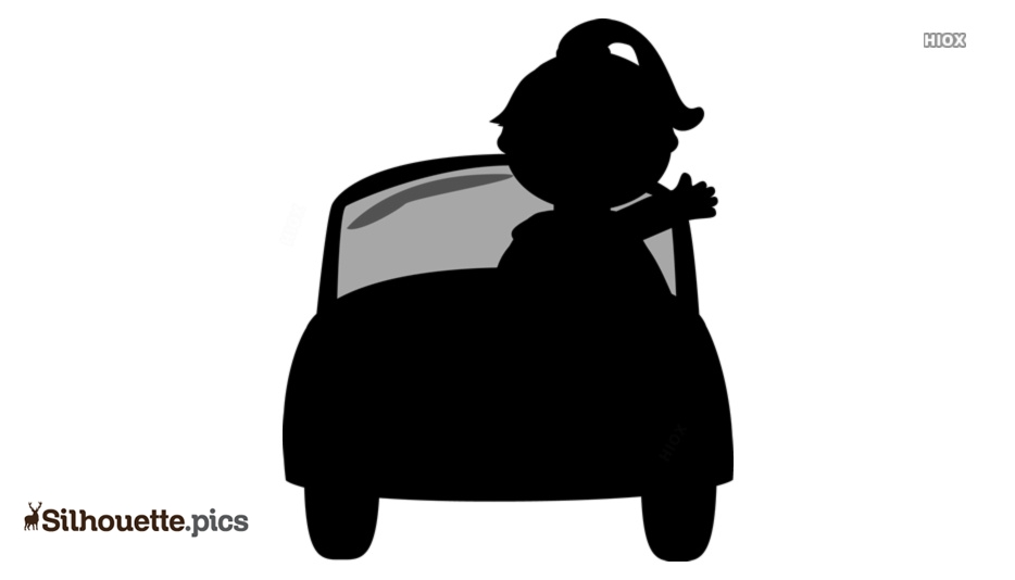 Free Fun Cartoon Car Silhouette