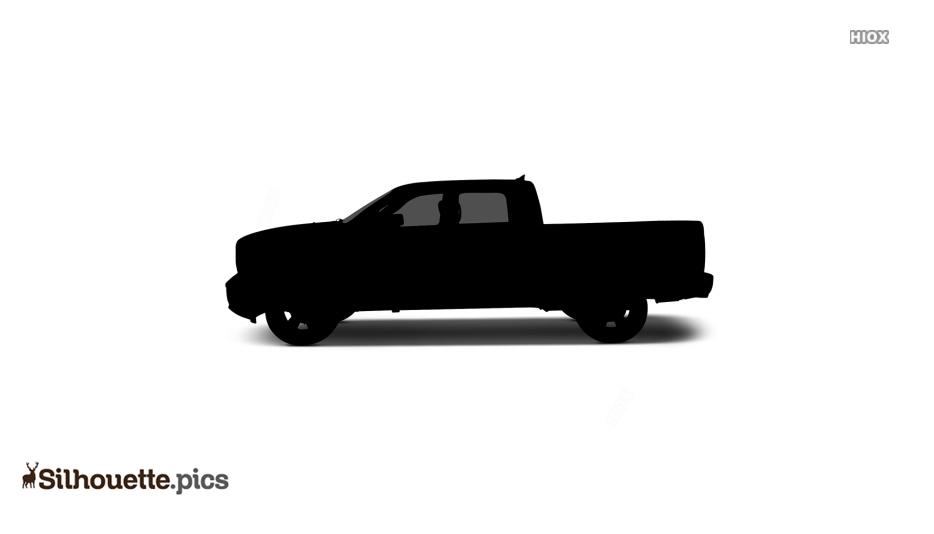 Free Heavy Duty Truck Silhouette