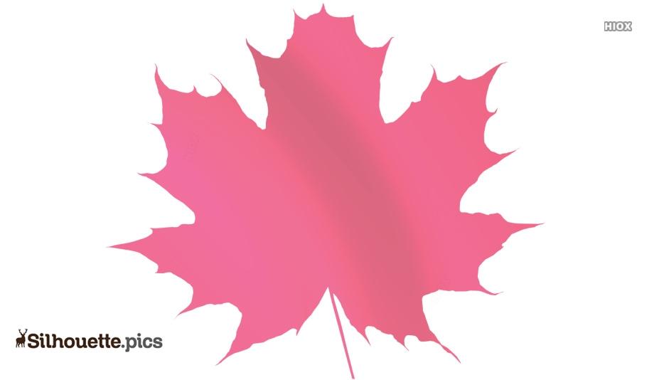 Free Maple Leaf Silhouette Image