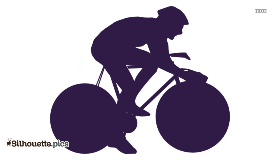 Riding Bicycle Silhouette Images