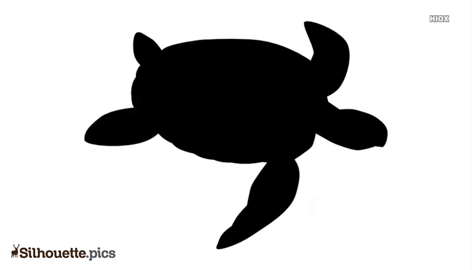 Free Sea Turtle Silhouette Clipart