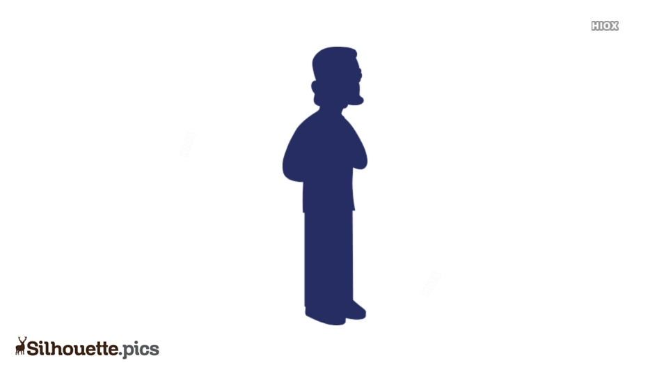 Free Simpsons Characters Silhouette