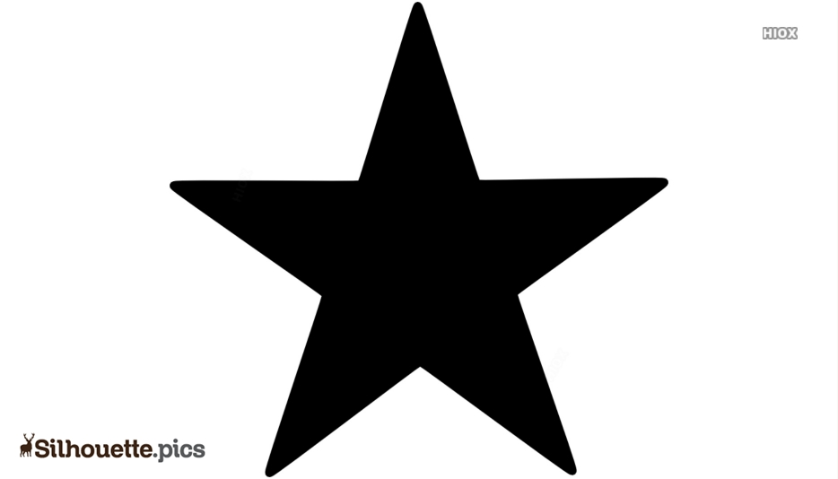 Free Star Shape Silhouette