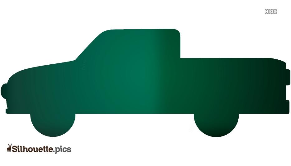 Free Toyota Pickup Truck Silhouette