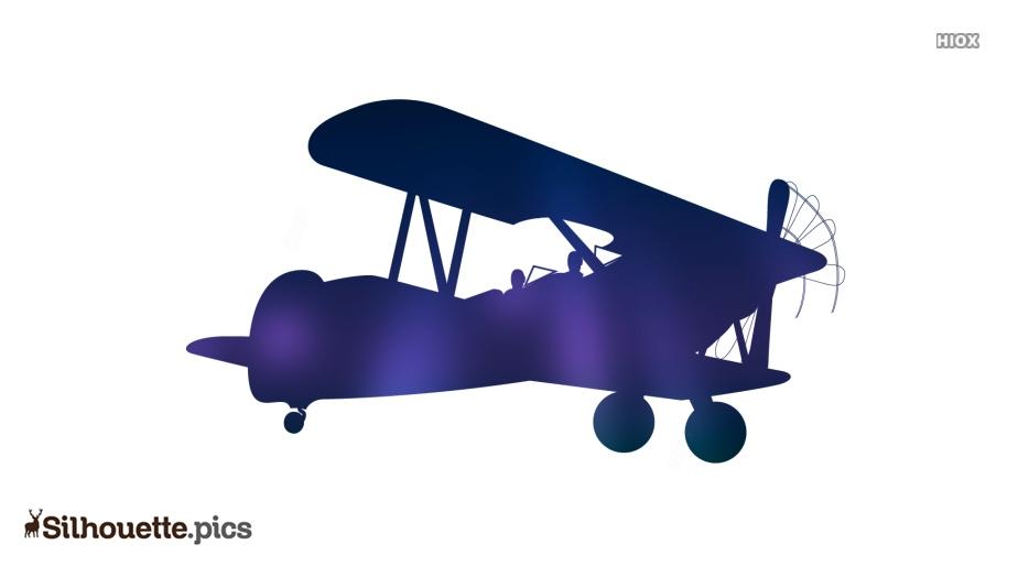 Vintage Aeroplane Silhouette Images