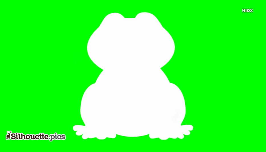 Frog Silhouette Image, Clipart