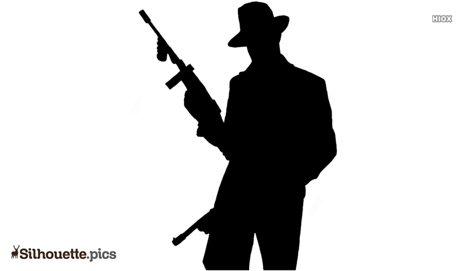 Cartoon Soldier Silhouette Images