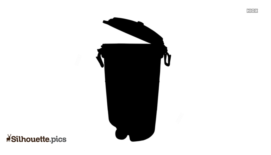 Dustbin Silhouette Images