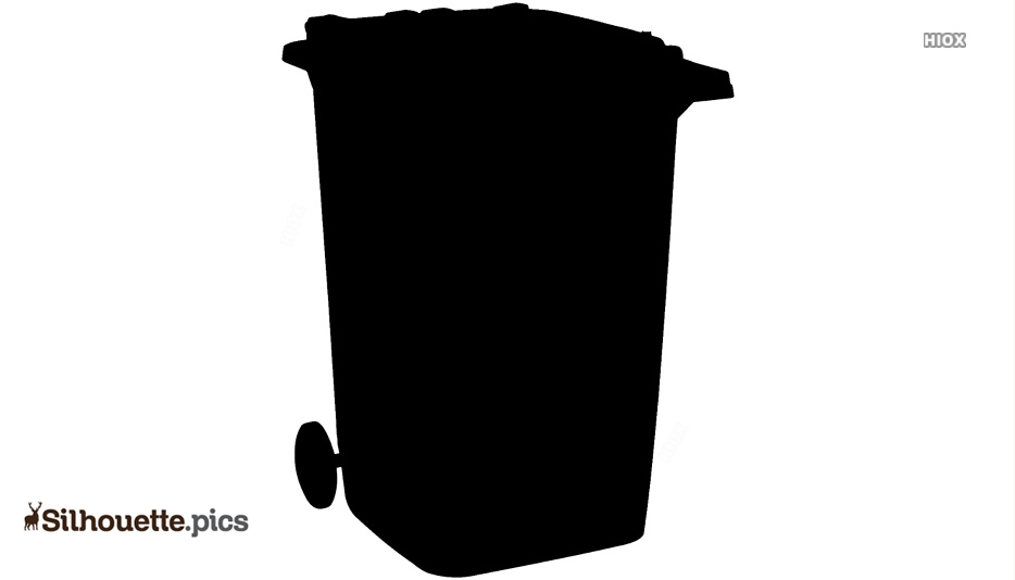 Garbage Can Silhouette