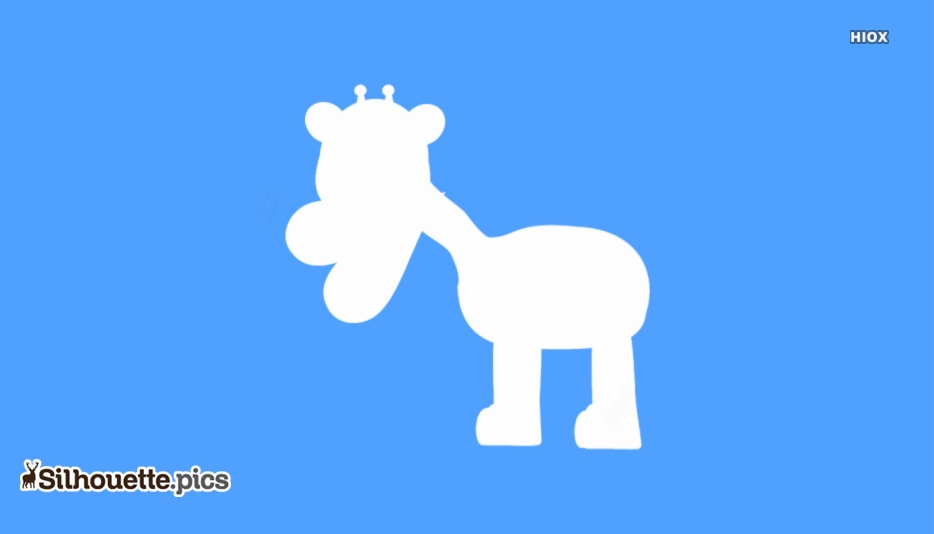Cartoon Giraffe Silhouette Images