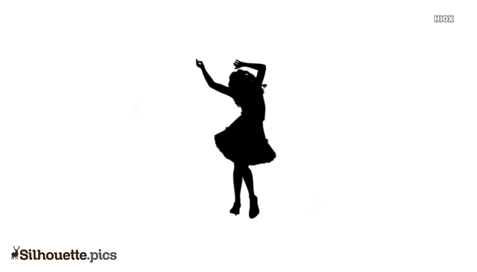 Girl Dancing Silhouette Picture