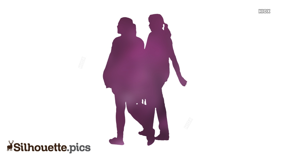 Girls Silhouette Images, Pictures