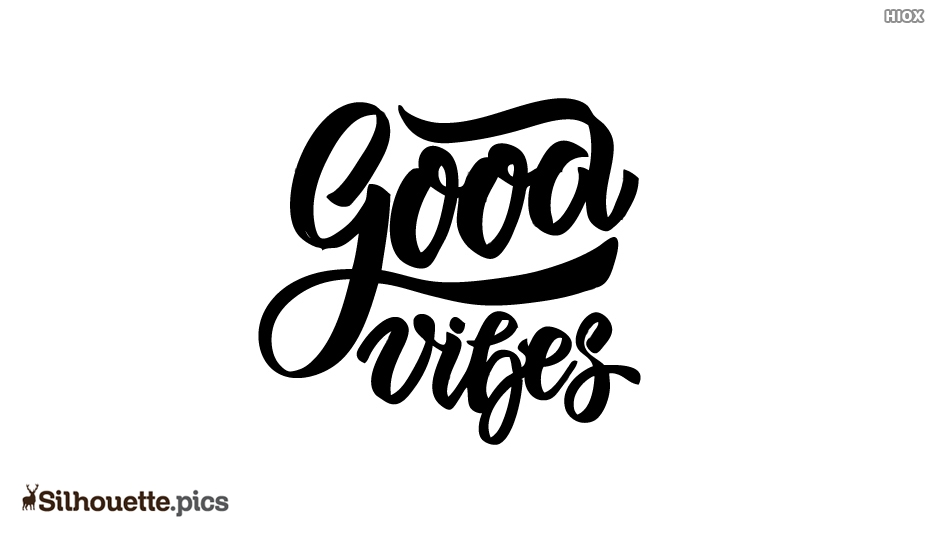 Good Vibes Silhouette