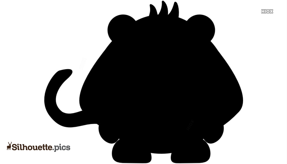 Gorilla Drawing Silhouettes