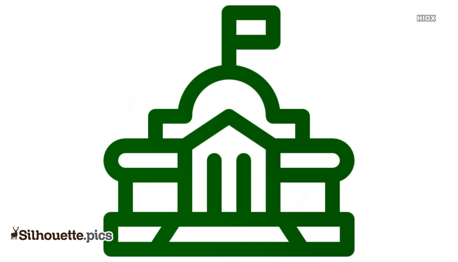 Government Building Silhouette Images, Vectors