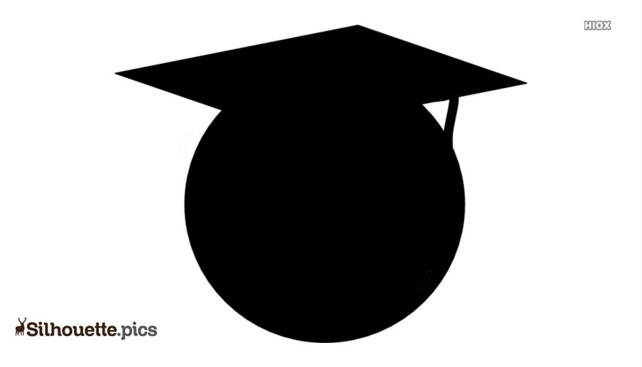 Graduation Icon Silhouette Image