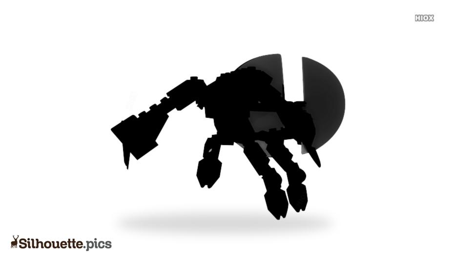Halo Forerunner Silhouette Art