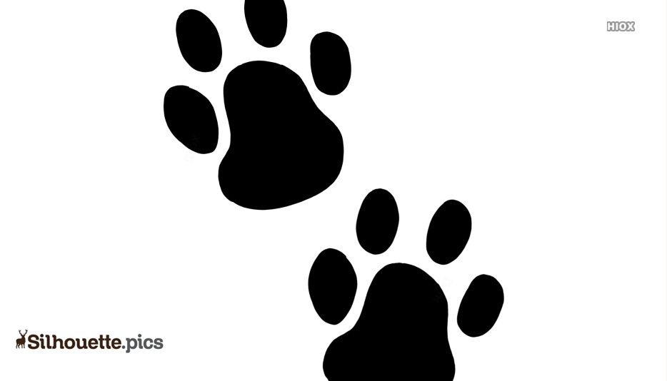 Hamster Paw Print Silhouette Art Silhouette Pics All images is transparent background and free download. silhouette pics