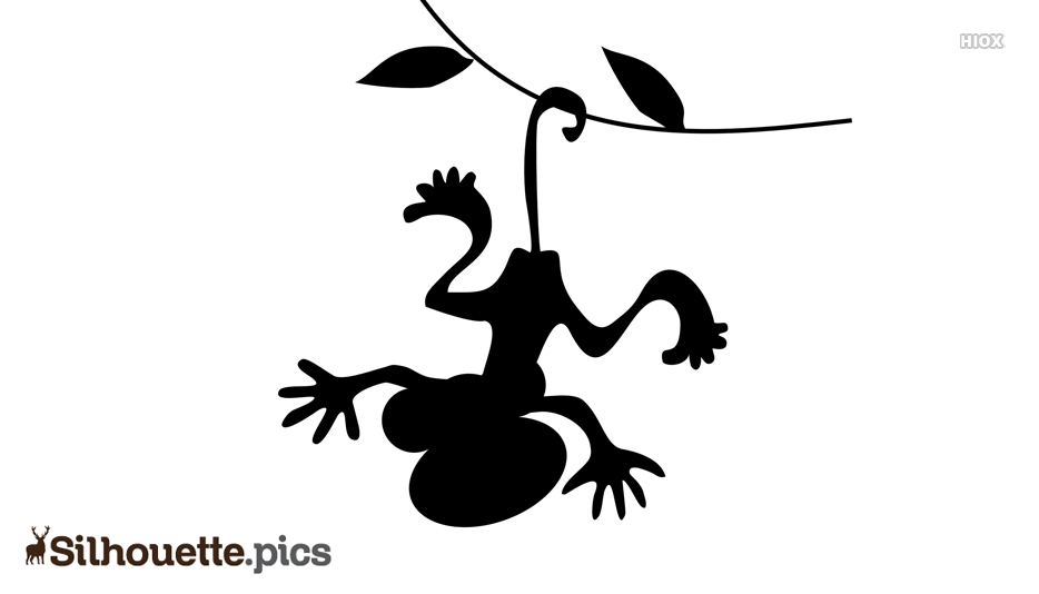 Hanging Monkey Drawing Silhouette Free
