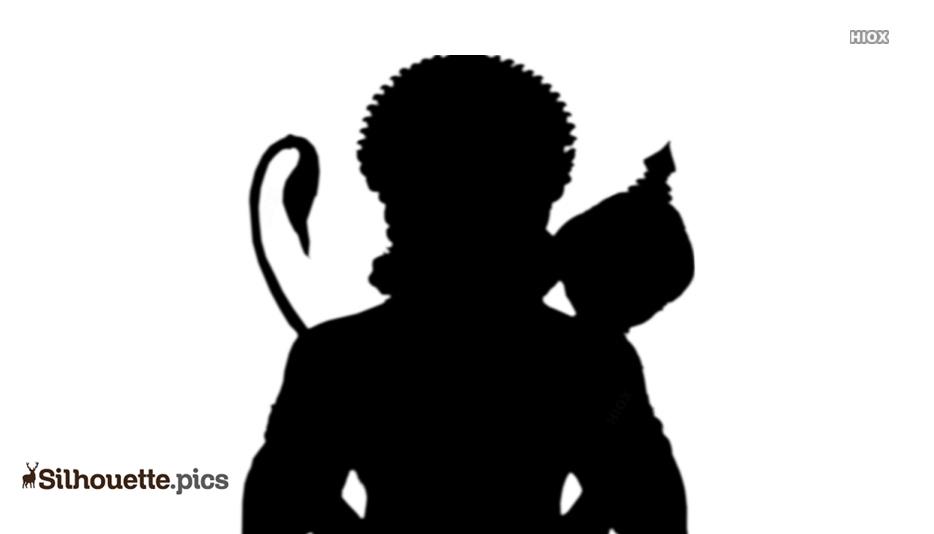 Hanuman Silhouette