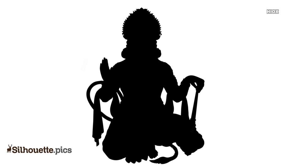 Hanuman Silhouette Picture