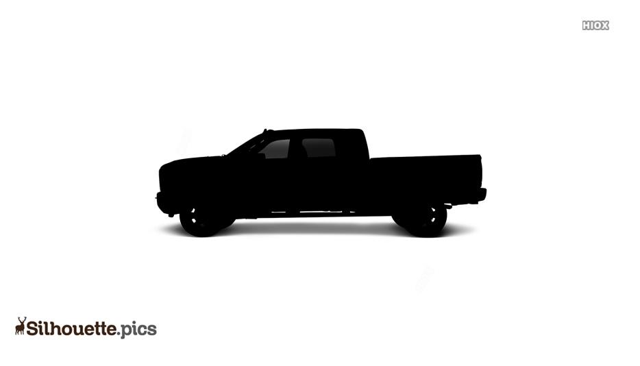 Heavy Duty Truck Silhouette Picture