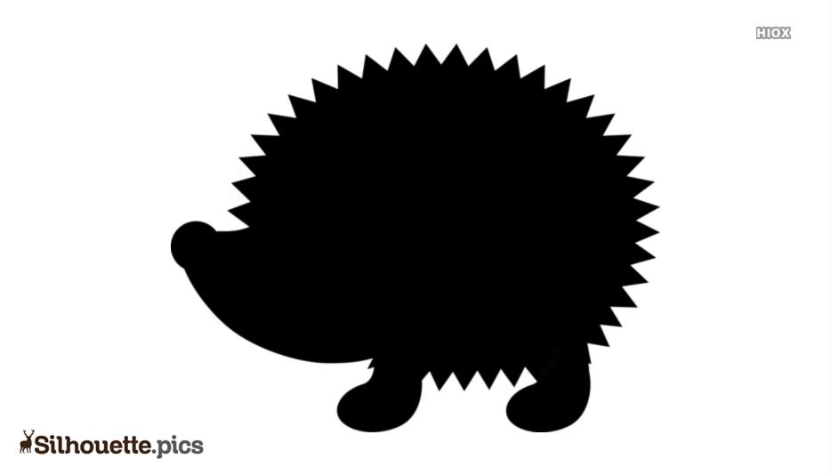 Hedgehog Drawing Silhouette Clip Art