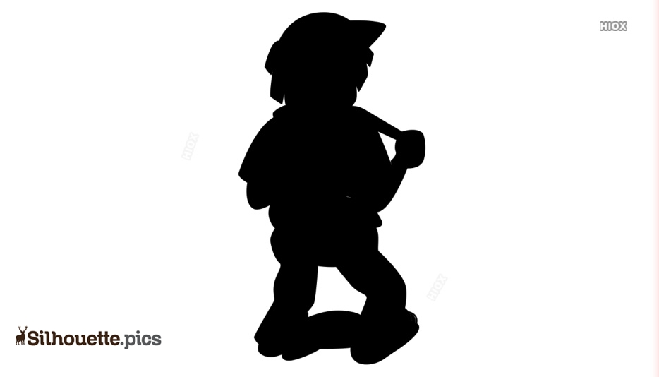 Hiker Clipart Silhouette