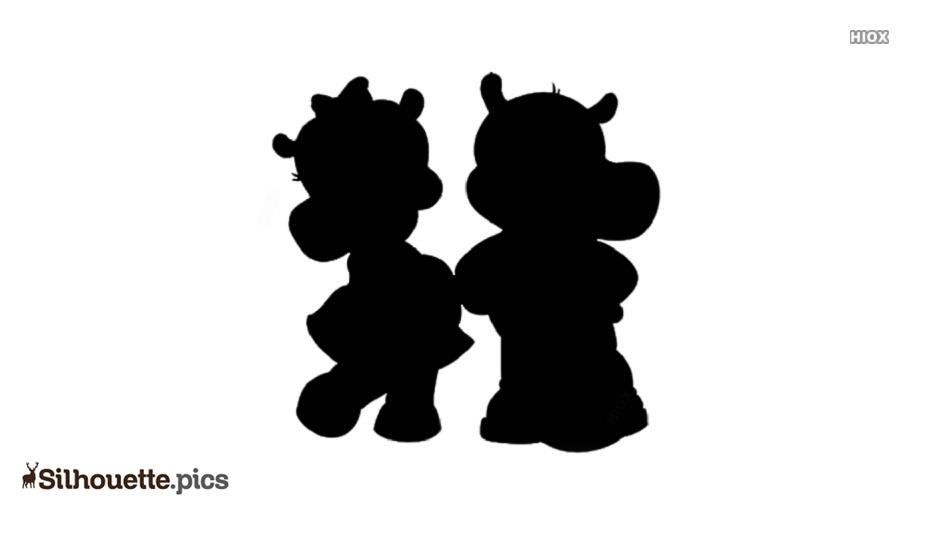 Hippo Clipart Animal Silhouette
