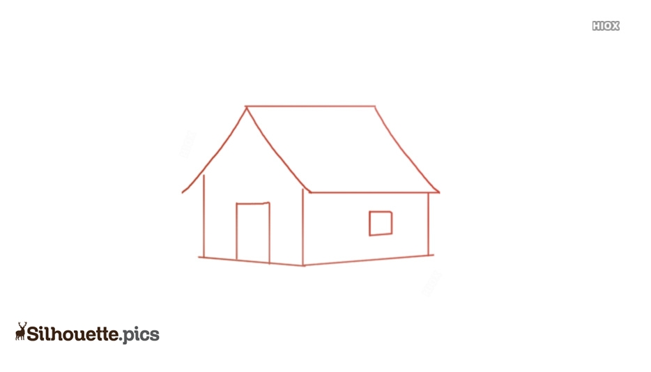 Home Drawing Silhouette Vector And Graphics