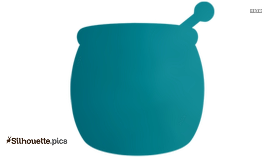 Honey Pot Emoji Silhouette