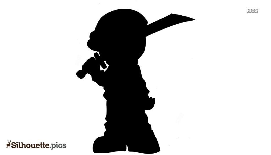 Hoodie Ninja Silhouette