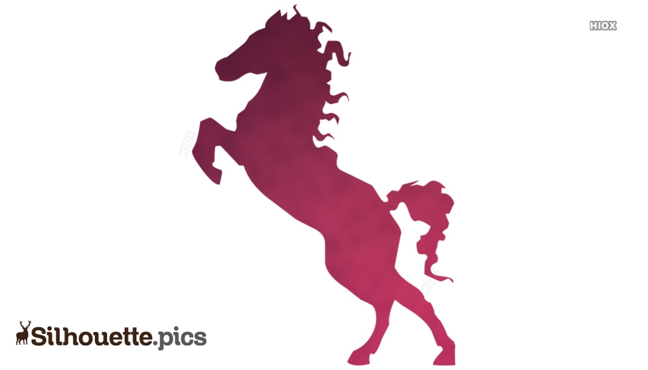 Horse Silhouette PNG Vector